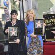 Ann et Nancy Wilson dévoilent leurs étoiles sur le Hollywood Walk of Fame à Hollywood, Los Angeles, le 25 septembre 2012
