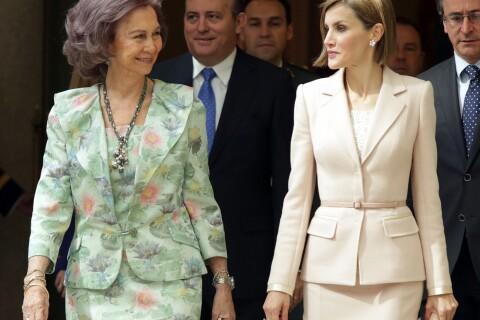 Letizia et Sofia d'Espagne : Passage de témoin en toute affection et élégance...