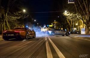 Spectre, nouvelles images : James Bond se la joue 'Fast and Furious'