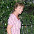 Rosa Monckton, amie de la regrettée Lady Di, en 2009 lors d'une garden party à Londres