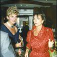 Lady Di et son amie Rosa Monckton.