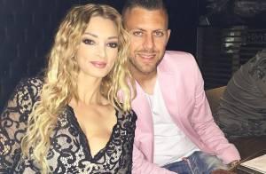 Emilie Nef Naf : Blonde sexy et ultradécolletée pour les 28 ans de Jérémy Ménez
