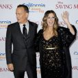 Tom Hanks et Rita Wilson à Los Angeles le 9 décembre 2013.