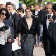 Julianne Moore se rend au Palais des Festivals. Cannes, le 13 mai 2015.