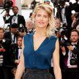 Alice Taglioni sur les marches du Palais des Festivals pour la projection du film La Tête Haute et la cérémonie d'ouverture du 68e Festival de Cannes. Cannes, le 13 mai 2015.