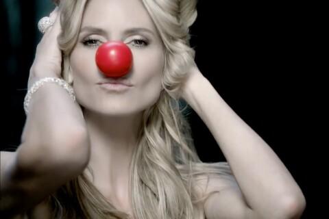 Heidi Klum, sublime et loufoque : Elle dévoile son nez rouge en toute sensualité