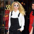 Kesha à la sortie de son hotel à New York, le 18 février 2015.