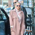Kesha à la sortie de son hôtel à New York, le 17 février 2015