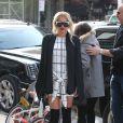 Kesha dans les rues de New York lors de la fashion week, le 16 février 2015.