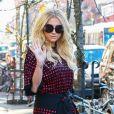 Kesha à la sortie de son hôtel à New York, le 13 février 2015
