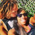 Brittney Griner et Glory Johnson, qui se sont mariées le 8 mai 2015, ont été suspendues sept matchs par la WNBA suite à une affaire de violences conjugales au mois d'avril, quelques jours avant leur union. Photo Instagram du 8 janvier 2015