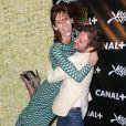 Augustin Trapenard et Doria Tillier - Soirée Canal + à Mougins lors du 68e festival international du film de Cannes. Le 15 mai 2015
