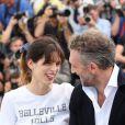 """Maïwenn (Maïwenn Le Besco) et Vincent Cassel - Photocall du film """"Mon Roi"""" lors du 68e Festival International du Film de Cannes, le 17 mai 2015."""