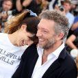 """Maïwenn (Maïwenn Le Besco), Vincent Cassel, Emmanuelle Berçot, Louis Garrel et Norman - Photocall du film """"Mon Roi"""" lors du 68e Festival International du Film de Cannes, le 17 mai 2015."""