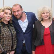 Catherine Deneuve, François Damiens et Yolande Moreau montrent leur 'Testament'