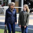 La comtesse Sophie de Wessex et Lady Louise Windsor au Royal Windsor Horse Show le 16 mai 2015