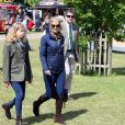 The Countess of Wessex and Lady Louise Windsor (left) during the fourth day of the Royal Windsor Horse Show at Windsor Castle in Berkshire, UK on Saturday May 16, 2015. Photo by Steve Parsons/PA Wire/ABACAPRESS.COM16/05/2015 - Windsor