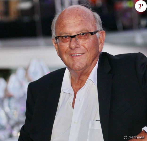 Jean de Colmont, propriétaire du Club 55 à Saint-Tropez, le 18 juillet 2014.