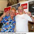 Jean de Colmont et Massimo Gargia à Saint-Tropez en 2003