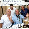 Yves Saint-Martin, Bernard Darniche et Jean de Colmont à Saint-Tropez en 2002