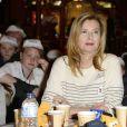 """Valérie Trierweiler - Lancement de la campagne """"Vacances d'été 2015"""" du Secours Populaire à Disneyland Paris. Le 16 mai 2015"""
