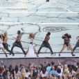 Little Mix - Concerts lors du Summertime Ball à Londres, le 21 juin 2014.