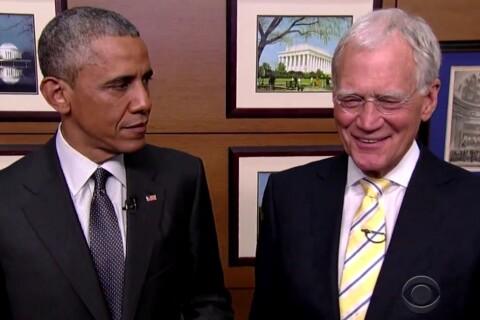 David Letterman: Barack Obama, Julia Roberts... Des stars pour son drôle d'adieu