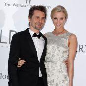 Matthew Bellamy: La star de Muse officialise avec sa chérie Elle Evans à l'amfAR