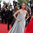 "Alicia Vikander - Montée des marches du film ""Macbeth"" lors du 68e Festival International du Film de Cannes, le 23 mai 2015."