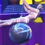 Eurovision 2015 : Le gagnant Mans Zelmerlöw, tout nu, parodie Miley Cyrus