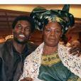 Photo de famille publiée par Emmanuel Adebayor sur son compte Facebook - mai 2015.