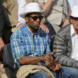 Loup-Denis Elion et Gérard Hernandez à Roland-Garros le 25 mai 2015 à Paris