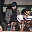 Bob Sinclar à Roland-Garros le 25 mai 2015 à Paris