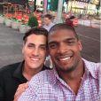 Michael Sam et son fiancé Vito Cammisano, photo publiée sur son compte Instagram le 10 mai 2015