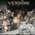 KAte Moss, destroy, sort de la boîte Le Vendôme, à Londres, le 25/09/08