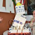 Giuseppe Lavazza, vice-président de Lavazza et Jean Gachassin - Lavazza fête ses 120 ans au Village de Roland-Garros à Paris, le 26 mai 2015.
