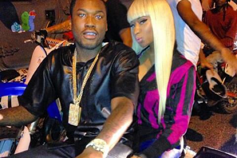 Nicki Minaj : Pas fiancée mais amoureuse à moto avec Meek Mill