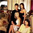Ryan Phillippe, Sarah Michelle Gellar, Reese Witherspoon et Selma Blair - Image tirée du film Sexe Intention, 1999
