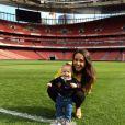 Polly Parsons et son fils Raff à Londres - 2014