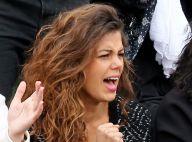Roland-Garros : Jo-Wilfried Tsonga au top devant sa belle Noura, fan numéro 1