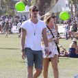 Eric Balfour et son amoureuse à Coachella en avril 2013