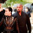Kim Kardashian et Kanye West arrivent à l'Alice Tully Hall, au Lincoln Center, pour assister aux CFDA Fashion Awards 2015. New York, le 1er juin 2015.