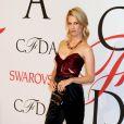 January Jones - People à la soirée des CFDA Fashion Awards 2015 à New York. Le 1er juin 2015.