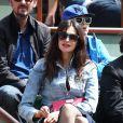 Helena Noguera lors du tournoi de tennis de Roland-Garros à Paris le 3 juin 2015
