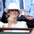 Alice Taglioni lors du tournoi de tennis de Roland-Garros à Paris le 3 juin 2015