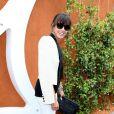 Caroline Baltz Nielsen lors du tournoi de tennis de Roland-Garros à Paris le 3 juin 2015