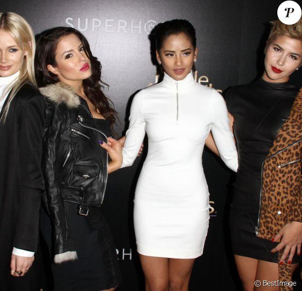 Le groupe G.R.L. à la 3e soirée annuelle Noble Awards à Beverly Hills, le 27 février 2015