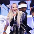 Rita Ora lors du BBC Radio 1's Big Weekend à Earlham Park. Norwich, le 24 mai 2015.