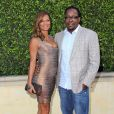 "Bobby Brown et sa femme Alicia Etheridge au 1er gala ""Legends Beyond"" a Beverly Hills. Le 19 septembre 2013"