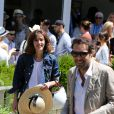 Doria Tillier et Nicolas Bedos, au village Roland-Garros à Paris, le 6 juin 2015.